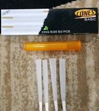 CONES BASIC KING SIZE 50 CONES FOR TOBACCO WITH FILTER (FREE TORPEDO TUBE)