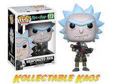 Rick and Morty - Weaponized Rick Pop! Vinyl Figure #172