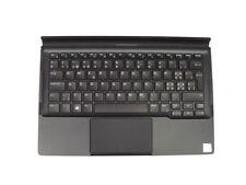 Dell Latitude 12 7275 XPS 12 9250 Premier Tastatur K18A + Folio SWISS QWERTZ