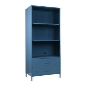 RETURNs Bookshelf Bookcase Storage Display Shelf Cabinet Home Office Stand Steel