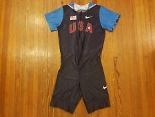 USA Olympic Track & Field Blue Nike FitDry Singlet Men's Size XL