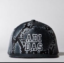 ADIDAS ORIGINALS Headwear HAT Trucker CAP AB2987 Snake Print BACK SNAP OSFW