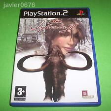SYBERIA 2 COMPLETO PAL ESPAÑA PLAYSTATION 2 PS2
