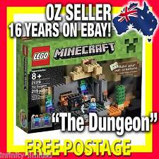 "21119 * LEGO MINECRAFT ""The Dungeon"" Mine Craft RARE LIMITED * NEW RELEASE! NIB"