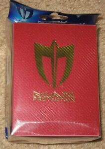 Max Protection Metallic Red Deck Box for CCG Gaming Cards