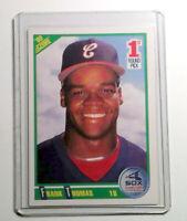 1990 Score Baseball #663 Frank Thomas Rookie Card Chicago White Sox RC HOF