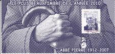 France o BS 2011 Bloc souvenir 066 Personnalité. Abbé Pierre 1er jour
