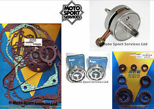Honda CR 250 02-04 Mitaka Bottom End Engine Rebuild Kit Crank Mains Gasket Seal