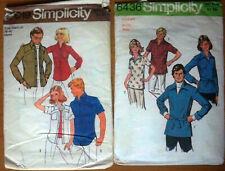 2 x Vintage Sewing Patterns Bulk Lot - Mens Size 38-40