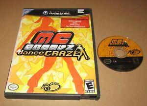 MC Groovz Dance Craze for Nintendo GameCube Fast Shipping!