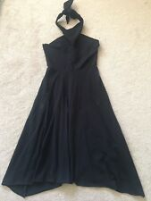American Apparel Halter Dress Jersey Bandeau M Convertible Worn Several Ways