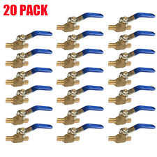 Lot 20pcs 34 Pex Brass Full Port Water Stop Shutoff Ball Valve Lf Upc Bl