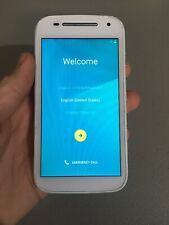 Motorola MOTO E 2nd Gen - 8GB - White (Sprint) Smartphone Clean MEID!
