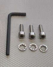 3 A2 Stainless Steel Bolts & Lock Washers + Hex Key. Linn Ekos Ittok Akito Basik