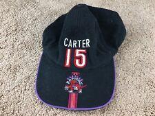 Vintage Toronto Raptors Vince Carter Hat Strapback Cap jersey shirt Basketball