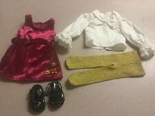 Authentic American Girl Doll Clothes 18 Inches Julie's Christmas Outfit