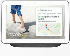 Google Nest Hub Grigio Antracite per Domotica Casa