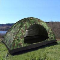Grande Tente de Camping UV 1Personne Pliable Étanche Randonnée Voyage Extérieure