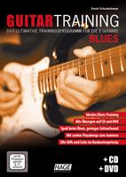 Guitar Training Blues - Traningsprogramm für E-Gitarre - mit CD + DVD