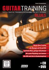 Guitar Training Blues (mit CD und DVD) EAN:9783866262492 Hage 3932