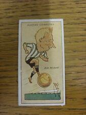 1927 MAC: No.25, Newcastle United  - Bob McKay [Football Caricature Card Issued