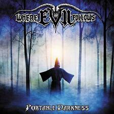 WHERE EVIL FOLLOWS - Portable Darkness (NEW*US METAL*ONWARD*SATAN'S HOST*MF)