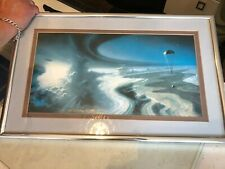 Limited edition Science Fiction print Into the Forge of God signe Alan Gutierrez