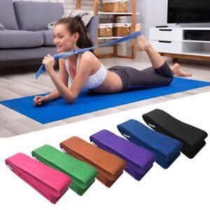 2pcs EVA Yoga Blocks 1pcs Cotton Yoga Strap Stability Blocks Yoga Strap Set Y0R9
