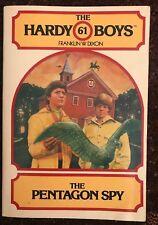 Hardy Boys 61 The Pentagon Spy Franklin W Dixon SC 1980