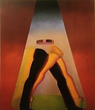 "Allen Jones 1975 Vintage Art Print Book Page Lithograph ""Marilyn"" Nudes Erotic"