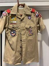 Official Boy Scout Scouts BSA Uniform World Jamboree Australia with Patches
