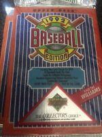1992 UPPER DECK BASEBALL 3 PACK LOT