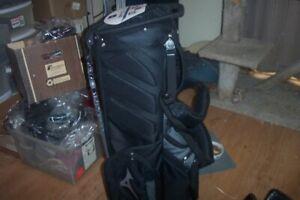 BRAND NEW Mizuno BR D4 Stand bag  14 way top  Black / Grey