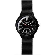 Dakota Mens Large Field Classic Military Army Tactical Analogue Watch Black NEW