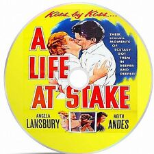 A Life At Stake Black And White Public Domain film Converted To DVD