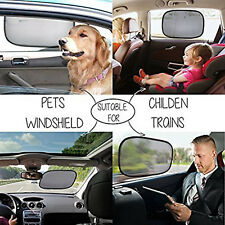 2x Universal Sun Shades Rear Side Seat Car Window Socks Baby Kid UV Protection