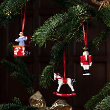 Villeroy & Boch Nostalgic Ornaments Ornamente Spielzeuge Set 3tlg.- 6683 -