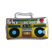 Funny Party Toy PVC Inflatable Radio Simulation Instrument Toy for Kids Gift FU