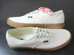 Vans Authentic Mens Gum Oatmeal classic canvas Skate boat shoes Size 13 NWT