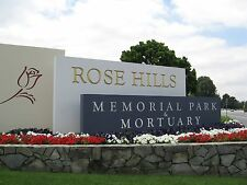 1 Plot for sale at Rose Hills Cemetery in Whittier, CA
