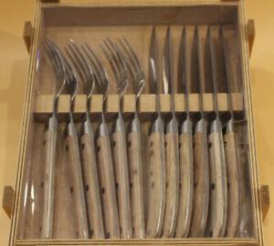 WMF Ranch Steakbesteck 12-teilig, 6 Personen, Steakgabel,Steakmesser, KG200 9937