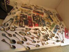 76 x collectors spoons job lot