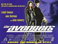 Die Avengers Original Filmposter