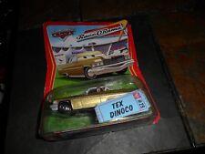 Disney Pixar World of CARS Movie Tex Dinoco GOLD Race o Rama