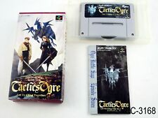 Complete Tactics Ogre Super Famicom Japanese Import SFC Japan CIB US Seller C