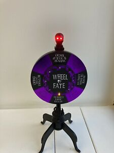 Hyde And Eek! Wheel Of Fate Animated Flashing Lights Excellent Condition