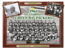 1961 Green Bay Packers Super Bowl World Champion Team Photo Lombardi Hourning