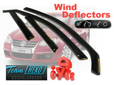 VW JETTA 2005 - 2011  SALOON / SEDAN  Wind deflectors  4.pc   HEKO  31159
