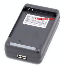 CARICABATTERIA PER BATTERIA LG KE970 KP500 COOKIE KP502 RETE DESKTOP USB 220V