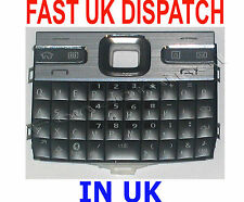 Keyboard Keypad Buttons Replacement Part For Nokia E72 E 72 Grey New UK